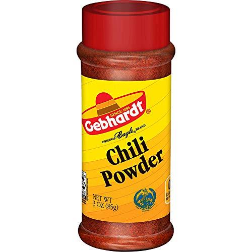 Gebhardt Chili Powder 3 Ounce Pack of 4