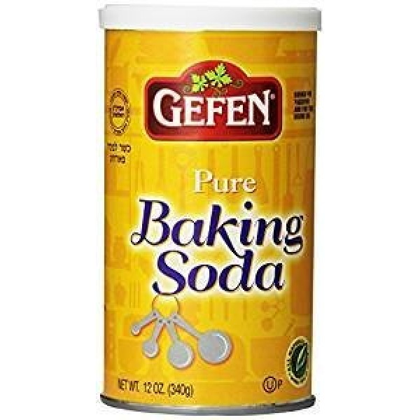Gefen Pure Baking Soda, 12oz 3 Pack In Resealable Container, T...