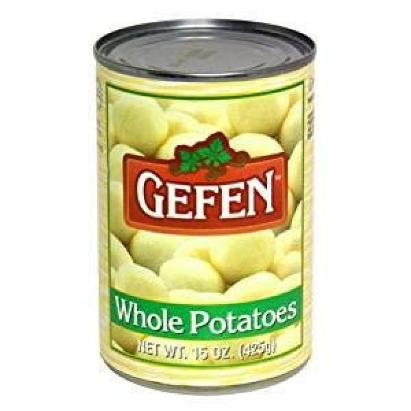 Gefen Sliced Potatoes Kosher For Passover 15 Oz. Pack Of 6.