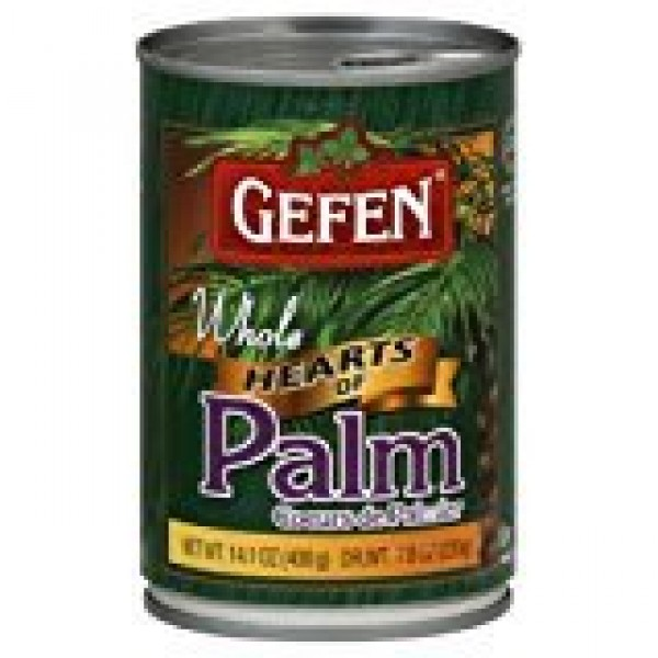 Gefen Cultivated Hearts Of Whole Palm KFP 14.1 Oz. Pack Of 3.