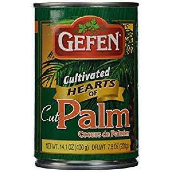 Gefen Cultivated Hearts Of Cut Palm KFP 14.1 Oz. Pack Of 6.