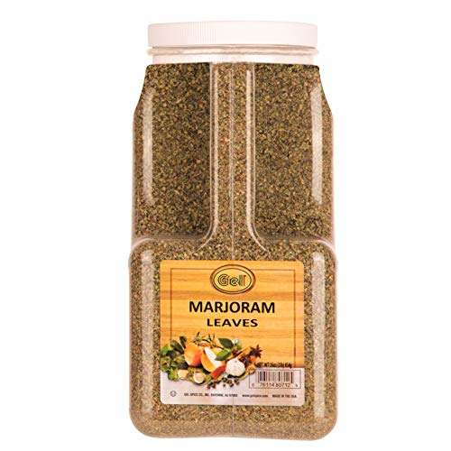 Gel Spice Marjoram Leaves -Bulk Size 16oz