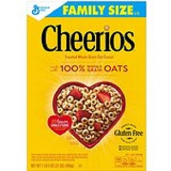 Cheerios Cereal, 12 oz Package of 3 - 12 oz boxes