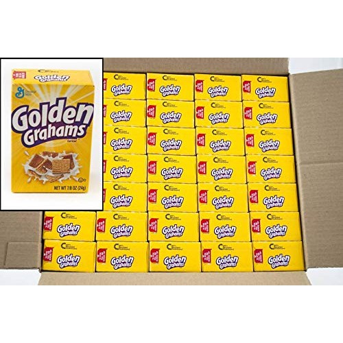 General Mills Golden Graham Cereal, 0.88-Ounce Single Packs Pac...