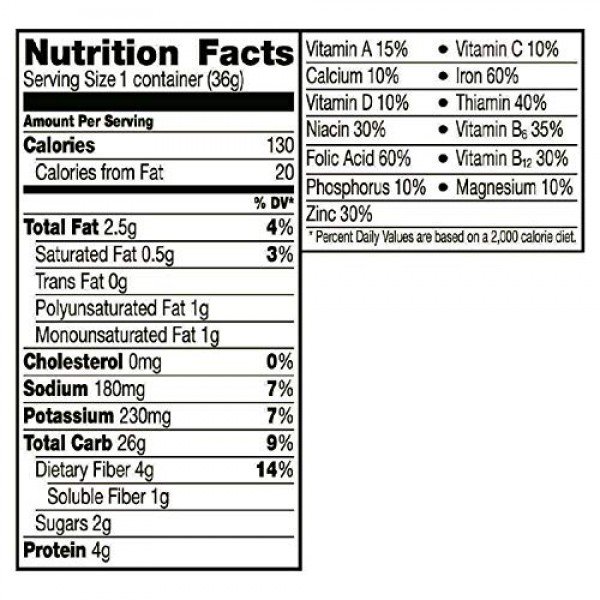 General Mills LR/D CEREAL CHEERIOS CEREAL IN A CUP 60 CASE 1.3 O...