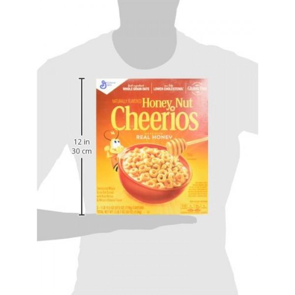 Honey Nut Cheerios, 27.5 Ounces Pack of 2}
