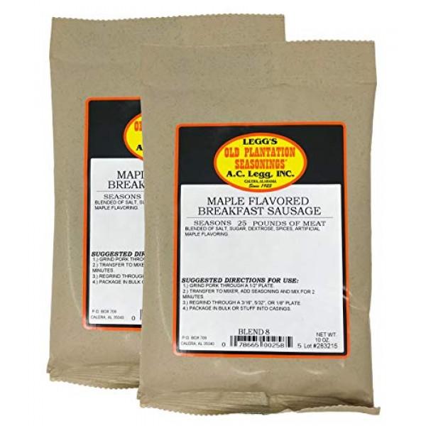 A.C. Legg - Maple Breakfast Sausage, 2 Packs - 10 Ounce each