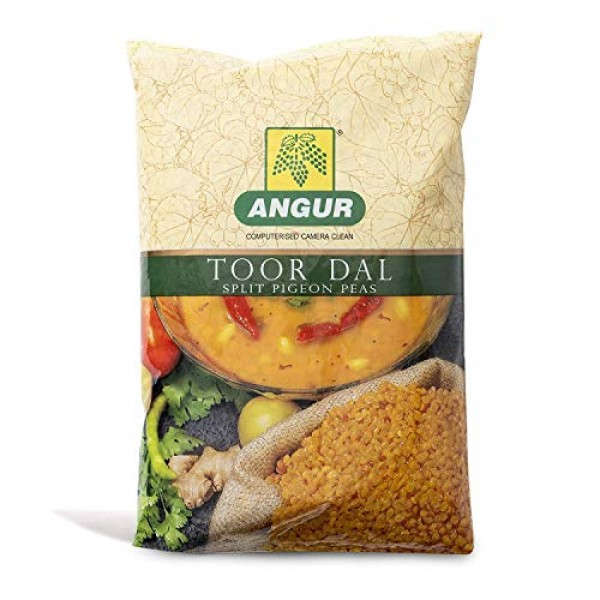 Angur Toor Dal - Split Yellow Peas Pigeon Peas - Natural, Hig...