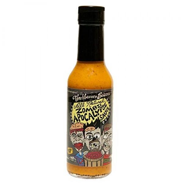 Da Bomb Beyond Insanity Hot Sauce and Zombie Apocalypse Hot Sauc...