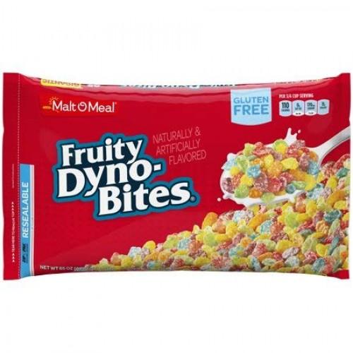 Malt-O-Meal Gluten Free Cereal, Fruity Dyno Bites, 65 Oz, Bag 3...