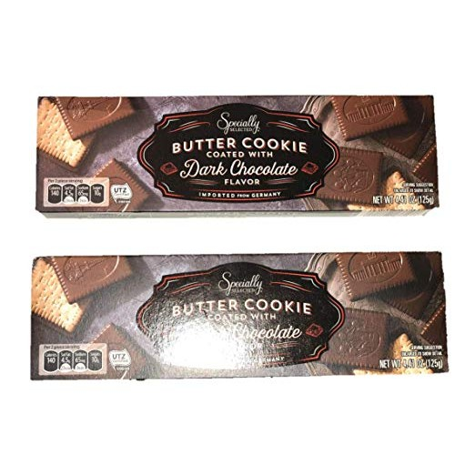 2 Packs Specially Selected - Butter cookie Coated with Dark Choc...