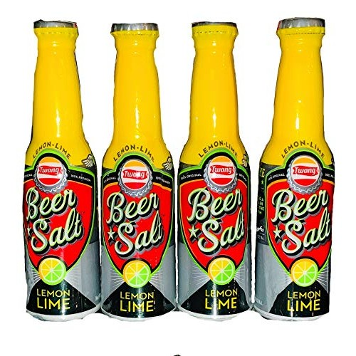 Twang Beer Salt | Lemon Lime Flavor | 4 Pack | 4-1.4 oz Bottles