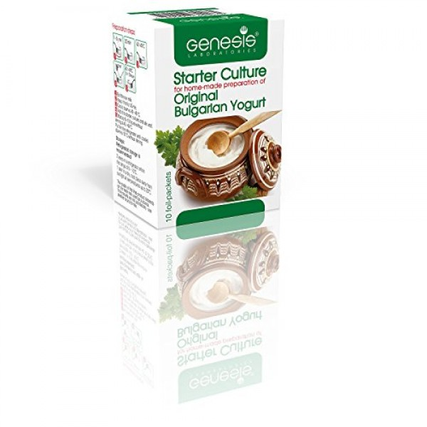 Bulgarian Starter Culture for Traditional Yogurt - Natural - up ...