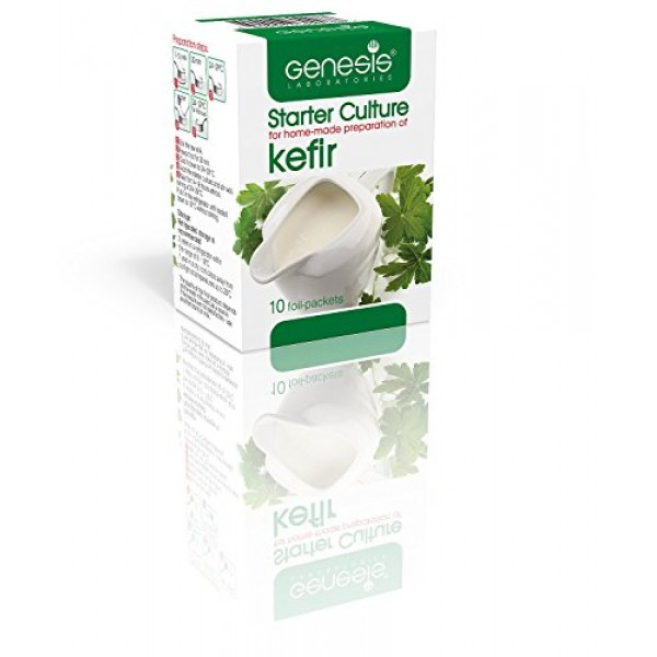 Genesis Starter Culture for home-made preparation of Kefir - up ...