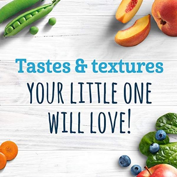 Gerber 2nd Foods Carrot Sweet Potato Pea Baby Food, 4 Ounce Tubs...