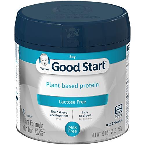 Gerber Good Start Plant Based Protein, Lactose Free Non-GMO Powd...