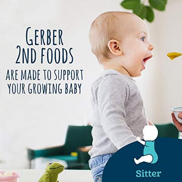Gerber 2nd Foods Sweet Potato, Apple & Pumpkin Pureed Baby Food,...