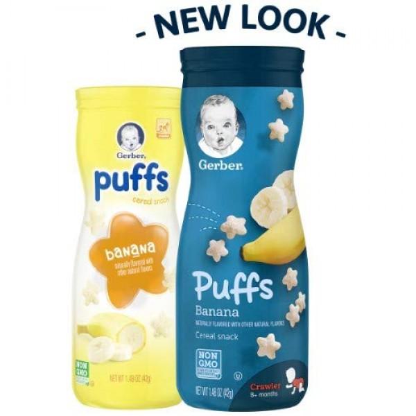 Gerber Puffs Banana Pack of 4