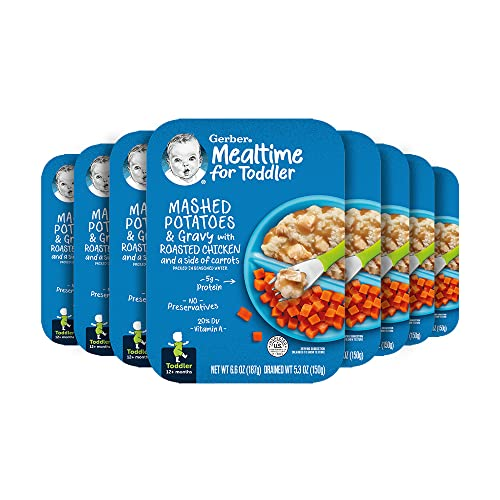 Gerber Graduates Lil Entrees Mashed Potatoes & Gravy with Roast...