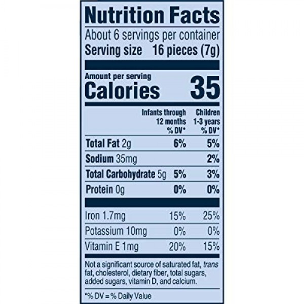 Gerber Graduates Lil Crunchies, Ranch, 1.48 Ounce Pack of 6