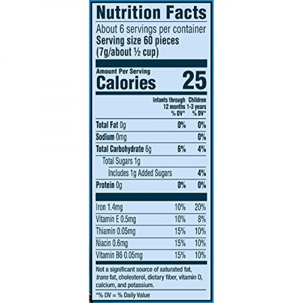 Gerber Graduates, Puffs Cereal Snack, Vanilla, 1.48 oz