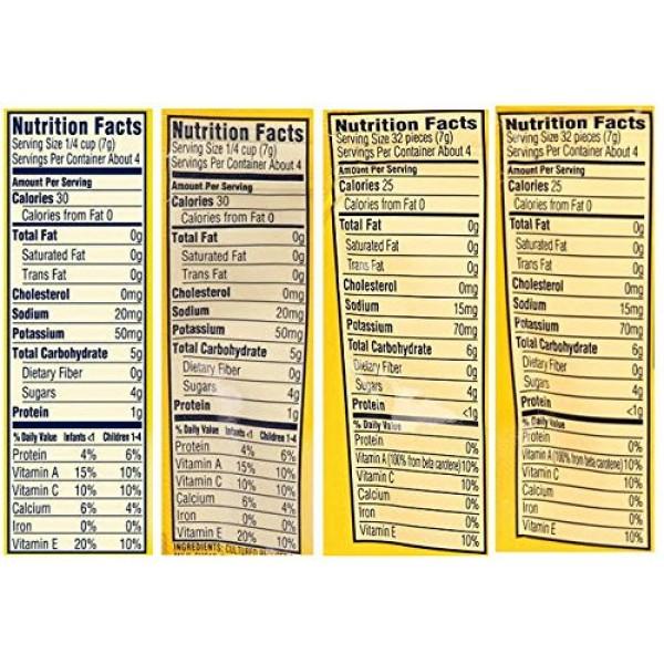 Gerber Graduates Yogurt Melts - Variety Pack - Bundle of 4 Bana...