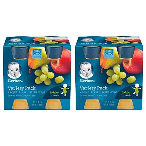 Gerber Juice Fruit Variety (Pack of 2)