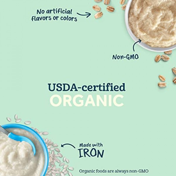 Gerber Organic Gluten Free Biscuits, Apple, 5.29 oz