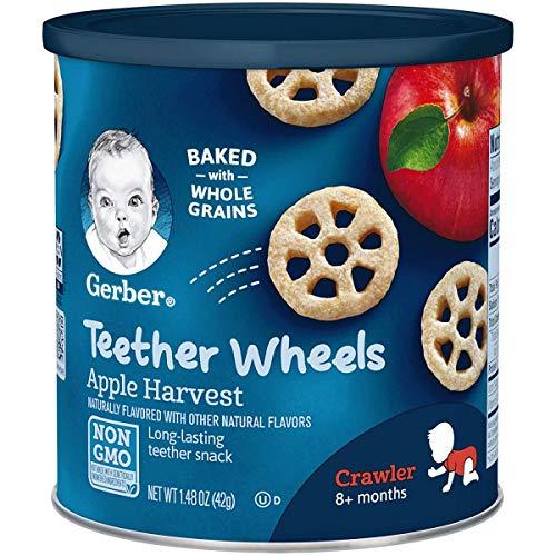 Gerber Graduates Wagon Wheels Apple Harvest, 1.48 oz