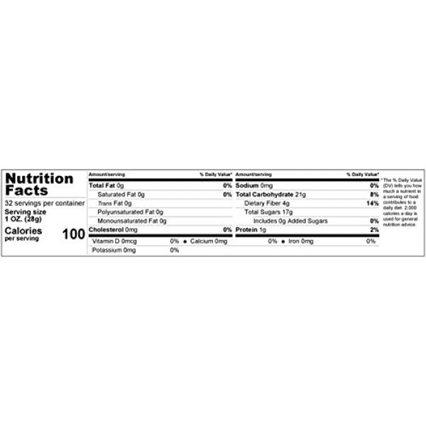 Gerbs Dried Fig & Date Fruit Mix, 2 LBS. - Top 14 Food Allergy F...