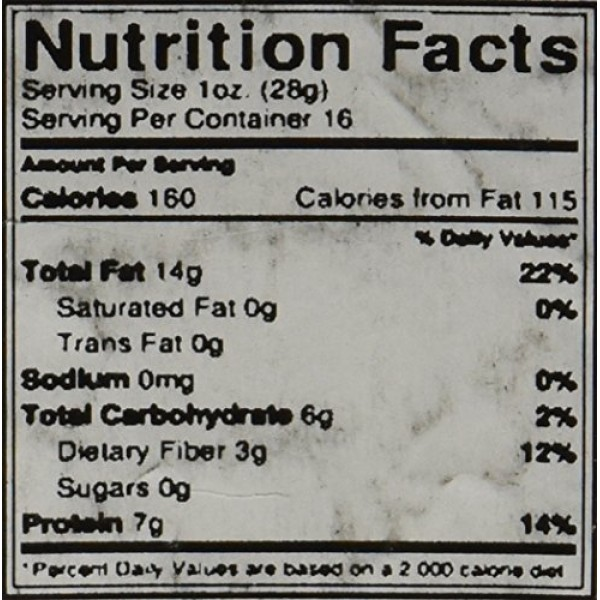 GERBS Raw Hulled Sunflower Seed Kernels, 32 ounce Bag, Top 14 Fo...