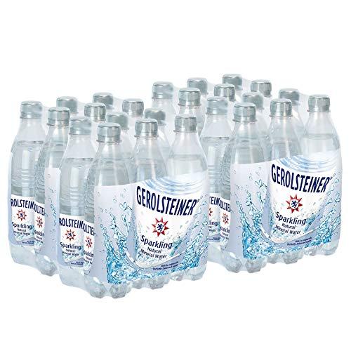 Gerolsteiner Naturally Sparkling Mineral Water,16.9oz, 6 Per Pac...