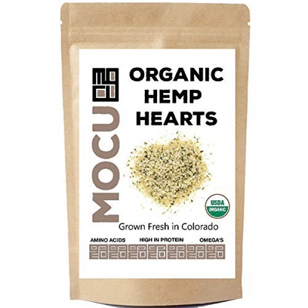 USA Grown Hemp Hearts Hulled Hemp Seeds | Cold Stored to Prese...