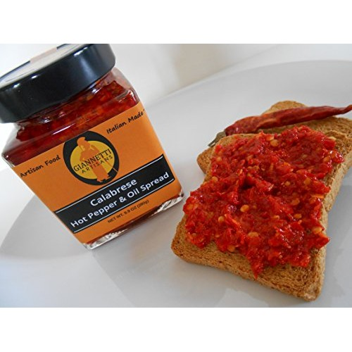 Giannetti Artisans Calabrian Hot Chili Pepper Spread - Artisan M...