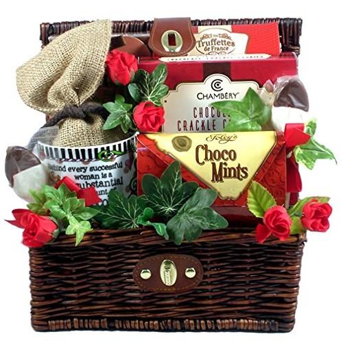 Gift Basket Village Chocolate Mania, Chocolate Lover Gift Set, 7...