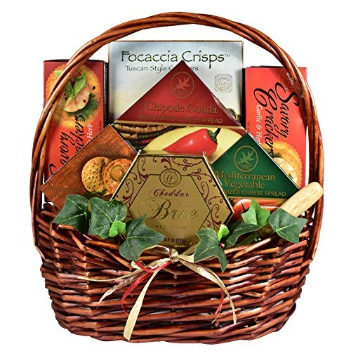 Cheese Lover Gift Basket for Those Who Really Love Cheese - Load...