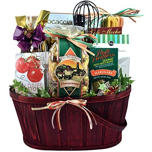 Gift Basket Village Italian Themed Dinner Gift Basket For Two - ...