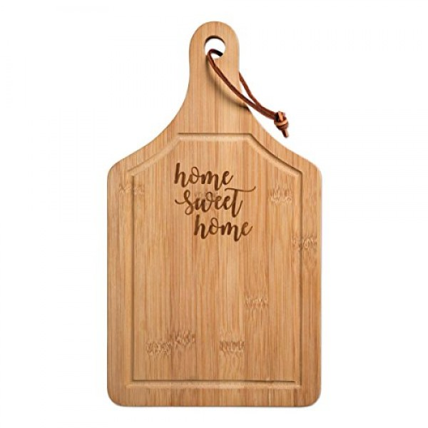 Sweet Home Sampler, Cheese and Crackers Cutting Board Gift with ...