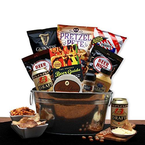 Beer Lovers Snack Food Gift Pail