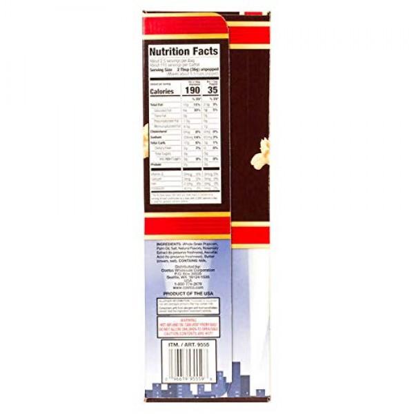 Kirkland Signature Microwave Popcorn, 3.3 oz, 44 Count Thank you...