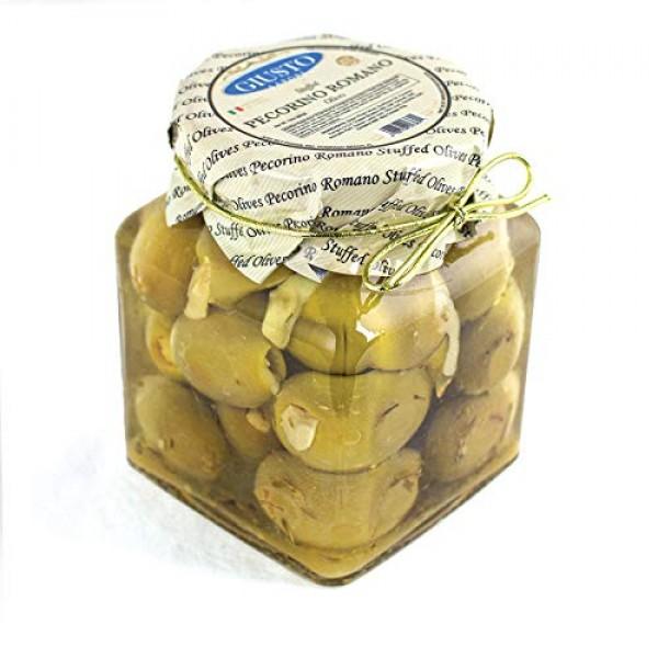 Giusto Sapore Olives Stuffed with Pecorino Romano 10oz