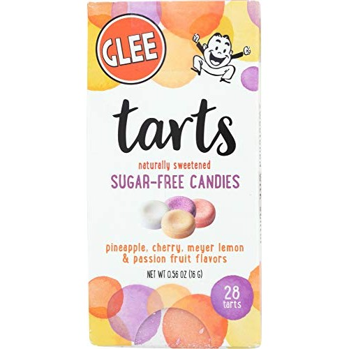 Glee Tarts, Sugar Free Candies, Zero Calories, Vegan, Gluten Fre...