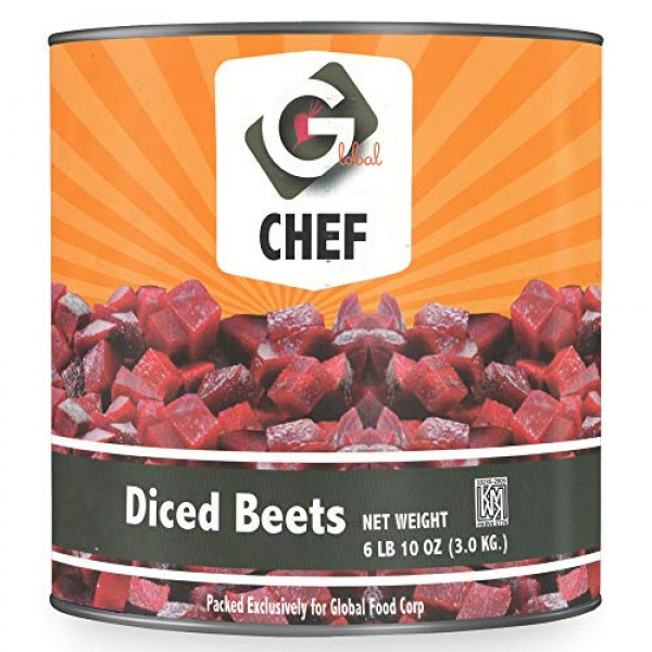 Global Chef - Diced Beet In Water - 6 lb 10 oz 3.0 kg - JUMBO ...