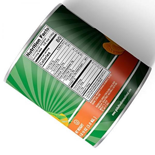 Global Choice - Mandarin Orange Whole Segments - 6 LBS - JUMBO Size