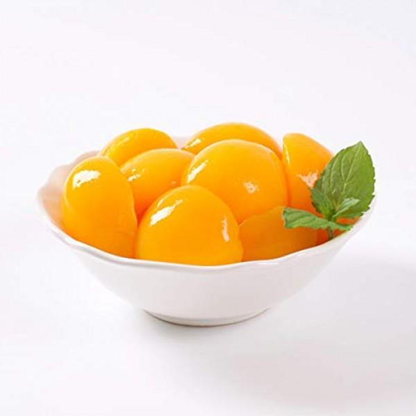 Global Choice - Peach Halves in Light Syrup - 106 oz - JUMBO siz...