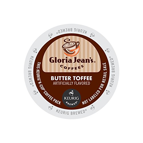 Gloria Jeans Butter Toffee K-Cups 24ct Flavored