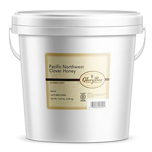 GloryBee, Pacific Northwest Clover Honey, Bulk Pail -11.67 LBs, ...