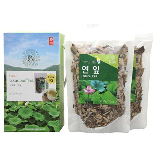 [GNTea] Lotus Leaf tea bulk 1.4oz, Korea tea, new fresh, clean...