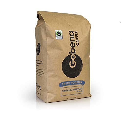 Fair Trade Organic Peruvian Ground 5 lb. Fresh Roasted Specialty...