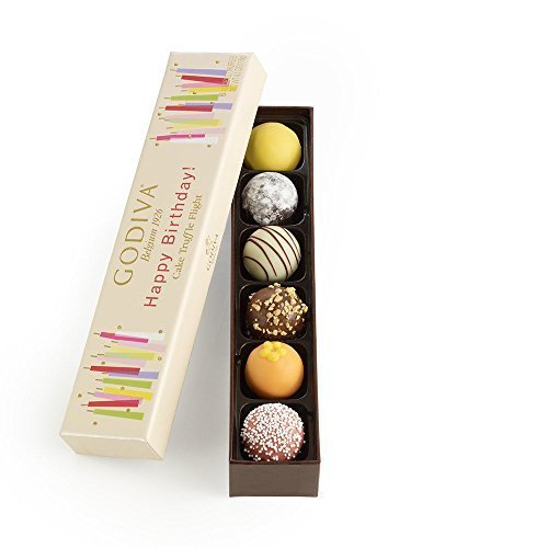 Godiva Chocolatier Happy Birthday Cake Chocolate Truffle Flight,...